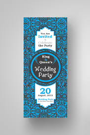 Wedding Card Design Floral Wedding Invitation Card Design Template Instant Download