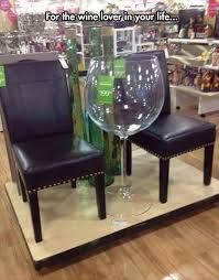 the wine glass for those who only want 1 glass of wine did you ever