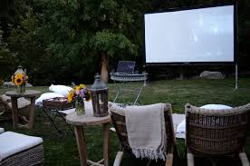 8 Tips To Plan Your Next BackYard Movie Night  Dina Asna  Pulse Movie Backyard