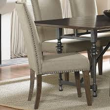 liberty furniture ivy park upholstered side chair with nail head within nailhead dining prepare 12