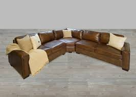 permalink to beautiful nailhead leather sectional sofa