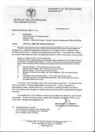 up ovpa memo on official time for all up acad workers unions advertisements