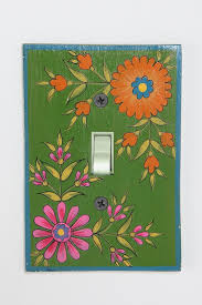 Decoupage Light Switch Plates Hand Painted Switch Plate Cover Switch Plates Switch