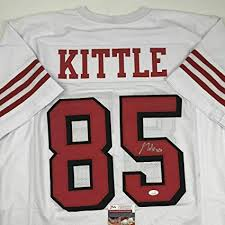 Coa Sports Jsa Kittle At Jersey Nfl Signed Store Amazon's Certified Collectibles White George Jerseys - Autographed bafaddbdcdbf Green Bay PACKERS Vs L.A. Chargers — NFL 2019 Online Stay