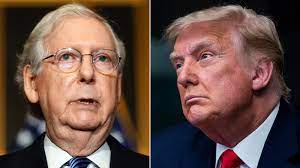 Mitch McConnell responds to Trump's ...