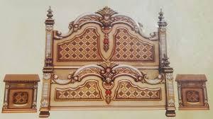 Chinioti Bed Designs 2019 Peshawar Furniture Modern Chinioti Bed Set Designs In