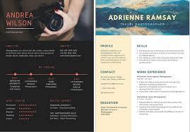 Creative Resume Unique Creative Resume Tips For Photographers Resume Templates Ideas