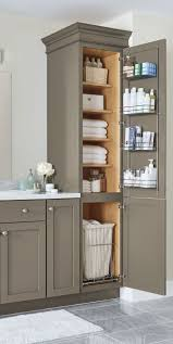 bathroom storage cabinets. an organized bathroom vanity is the key to a less stressful morning routine! check out storage cabinets e