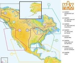 Electronic Charts Canada C Map Max Chart M Na M025 Canada West