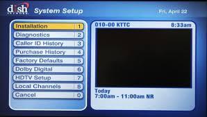 Dish Network Check Switch Procedure