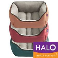 halo pet bed.  Halo HALO Unisuede Reversible Rectangular Cuddler Intended Halo Pet Bed A