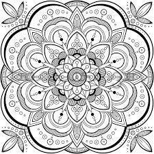 Small Picture Mandala Coloring Pages Pdf line drawings online Mandala Coloring