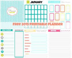 Weekly Calendars To Print 2015 Free Printable Planner Pages Menu Planner Calendar Pages