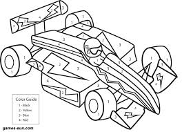 Small Picture race car coloring by numbers games the sun games site flash