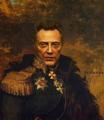 christopher walken army general painting