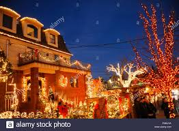 Dyker Heights Christmas Lights Tour 2017 Brooklyn New York December 20 2017 Dyker Heights