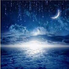 xbwy 3D Galaxy Starry Blue Sky Night ...
