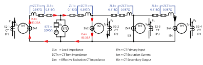 i want to know how a high impedance differential scheme works high impedance differential equivalent circuit