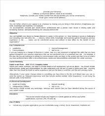 curriculum vitae cv samples   pacq co