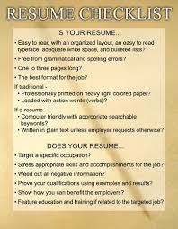 Resume Poster