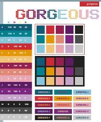 Best Color Palette For Charts Psychology Color Palette Color Schemes Good Color