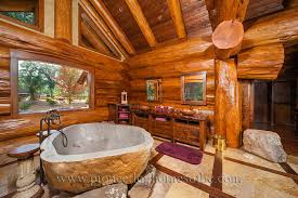 Log Home Bedrooms