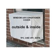 window air conditioner inside. amazon.com: window air conditioner cover - window/thru wall 24w, 21h, 21d and 4d white: home \u0026 kitchen inside