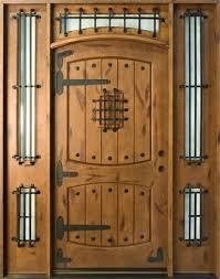 solid wood front doors with glass wood front doors with glass and wrought iron solid wood