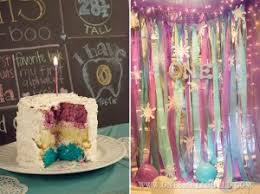 Girls First Birthday Party Winter Onederland