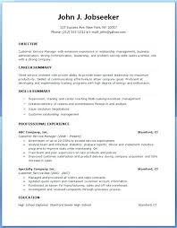 Sample Of Resumes Resume Formats Examples Professional Resume Format ...