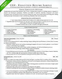 Executive Resume Templates Word Inspiration Executive Resume Template Districte48