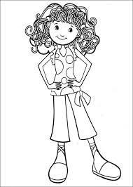 65 Coloring Pages Of Groovy Girls