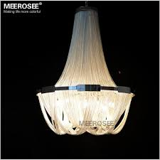 french empire chain chandelier light fixture for restaurant modern long chain hanging suspension drop re lamp
