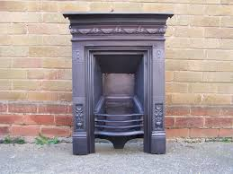 victorian cast iron fireplace circa 1880 from a house in draycott