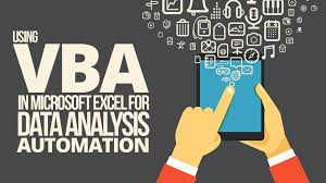 Using Vba In Microsoft Excel For Data Analysis Automation Simple