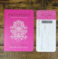 passport to love booklet travel wedding invitation by ditsy chic Free Email Wedding Invitations Uk wedding invitation passport to love with boarding pass rsvp card free email wedding invitation templates