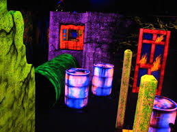 haunted house lighting effects. black light attractions does installations for entertainment centers but youu0027ll probably get some great haunted house lighting effects