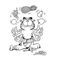 Garfield Kleurplaten Leuk Voor Kids