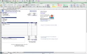 Mac Invoice Template Excele Template Free Download For Mac Macro Microsoft Simple