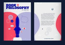book cover page maker human mind concept vector illustration philosophy book cover