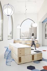 Interior Design Course Smart Majority New Office Archetype Embodies Greater Mobility And