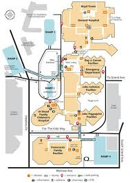 Parking And Map University Of Iowa Hospitals Clinics