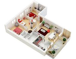 Small Picture 25 Three Bedroom HouseApartment Floor Plans
