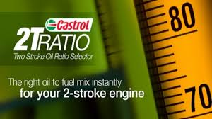 Castrol 2t Ratio Two Stroke Oil Ratio Selector Services