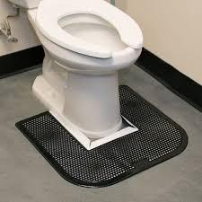 Disposable Toilet 23 X 22 Black Disposable Toilet Floor Mat Imp 1550 5 6 Case