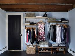 stylish no closet solution diy 12 clothes storage idea room makeover to suit your photo by