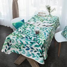 qoo10 small fresh literary tablecloth