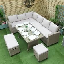 rattan garden furniture for