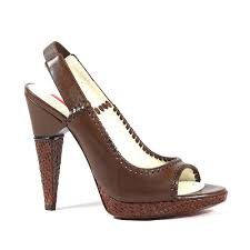 cesare paciotti womens shoes brown high heel leather platform sandals cpw529