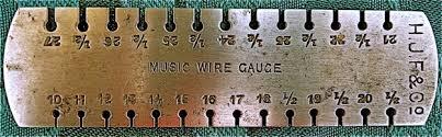 String Gauges Martin Shepherd Piano Service